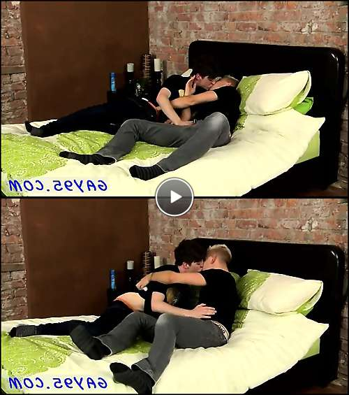 men gay love video